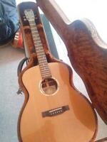 Mackenzie and Marr Solid Wood Tofino with Custom Anthem Pickup