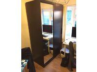 Black IKEA MALM Wardrobe £50
