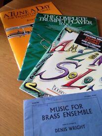 Trumpet Tutor books