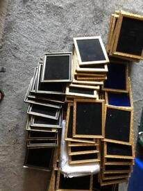 Job Lot car boot resale approx 175 picture frames
