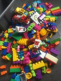 Mega bloks and accessories.... over 200 peices