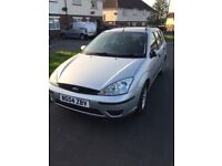Ford Focus estate 04 plate