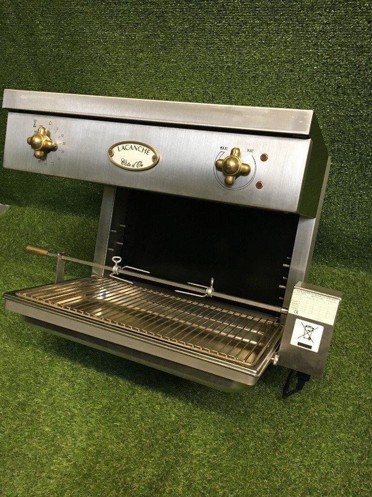 Salamander Kitchen Appliance Rare Lacanche Salamander Grill Rotisserie Cooker Appliance In