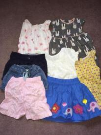Girls clothing summer bundle. Age 18-24 months. Smoke free, pet free home. Excellent condition