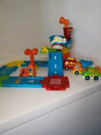 Vtech toot toot drivers airport and 4 cars