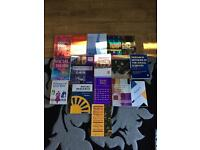 Huge bundle of social policy and social research books