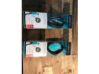 Two Fitbit flex devices