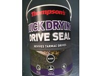 THOMPSONS Black Quick Drying Drive Seal 10Litres