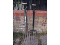 Garden Forks - £6 each