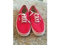 Men's VANS shoes size 9