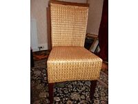 Rattan wooden chair for sale