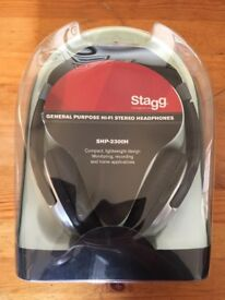Stagg SHP-2300H headphones (New)