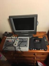 Nintendo SNES and N64