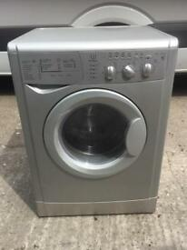 Very good condition full working order Indesit wash and dry Colour : silver : £90