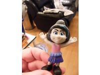 UK MCDONALDS VEXY GIRL Figure Plastic Toy Figure 8cm