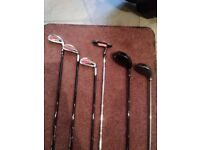 La Jolla Club, CHILD'S, right handed golf set with bag.