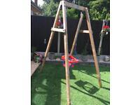 Wooden ELC swing