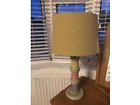Next sewing bobbin table lamp