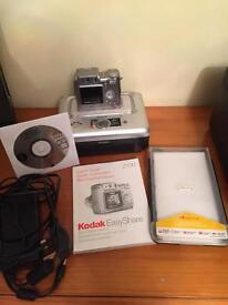 Kodak z700 EasyShare camera and printer