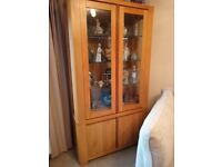 STIRLING SOLD WOOD LIVING ROOM FURNITURE TV STAND, COFFEE TABLE, DISPLAY UNIT, SIDE TABLE