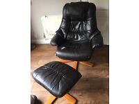 Chair & Foot Stool (was massage chair)