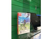 Nintendo Switch: The legend of Zelda Breath of The wild Game