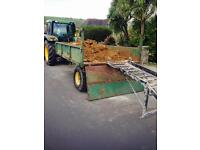 Tractor trailer 4 ton