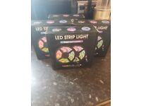 RGB colour strip lights 12V 20m long