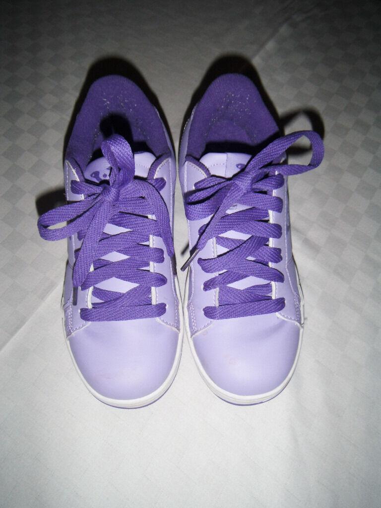 Sidewalk sport lane roller skate shoes - Sidewalk Sport Sport Lane Girls Wheeled Skate Shoes Size 3 Like Heelys