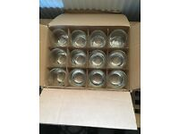 Set of 12 hurricane glasses