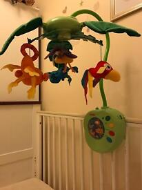 Cot mobile - fisher price