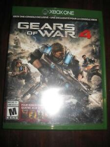 Gears of War 4 For Microsoft Xbox One / Xbox One X Game System. Horde. Multi Player.