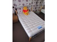 Metal Frame bed and Mattress - As new condition