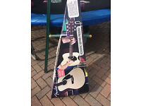 Fender acoustic Guitar CD60 Natural new in box