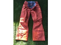 Men's Dakine Control II Pant 17w size Medium W32/L32-33