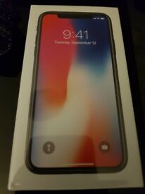 I Phone X Boxed and Sealed