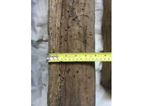 100 year old French oak beam