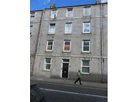 For Lease, Furnished, Well Presented, Second Floor, One Bed Studio, Charlotte Street, Aberdeen.