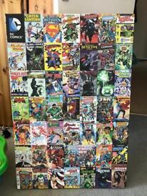 Marvel & DC comic book canvas