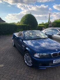 Convertible BMW automatic