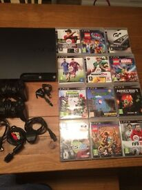 PlayStation PS3 160 console and games