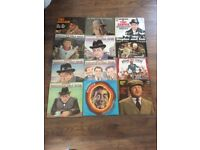 12 Classic BBC Record LP's, Tony Hancock's Half Hour, Round the horn, Steptoe and Son and Benny Hill