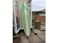 8ft mini mal surfboard