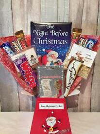 Kids Personalised Christmas Eve Hampers