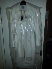 lovely cream coat size 12 new