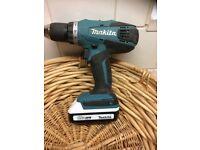 Makita screwdriver/drill