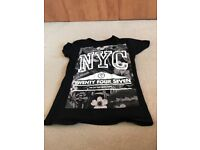 Boys Grand Theft Auto T-shirt, Age 13-14/New York Tshirt, Age 11-12