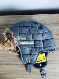 Kids brand new winter comfy hat from Next,costs £13.95,quick sale at only £5 age 11-13 years