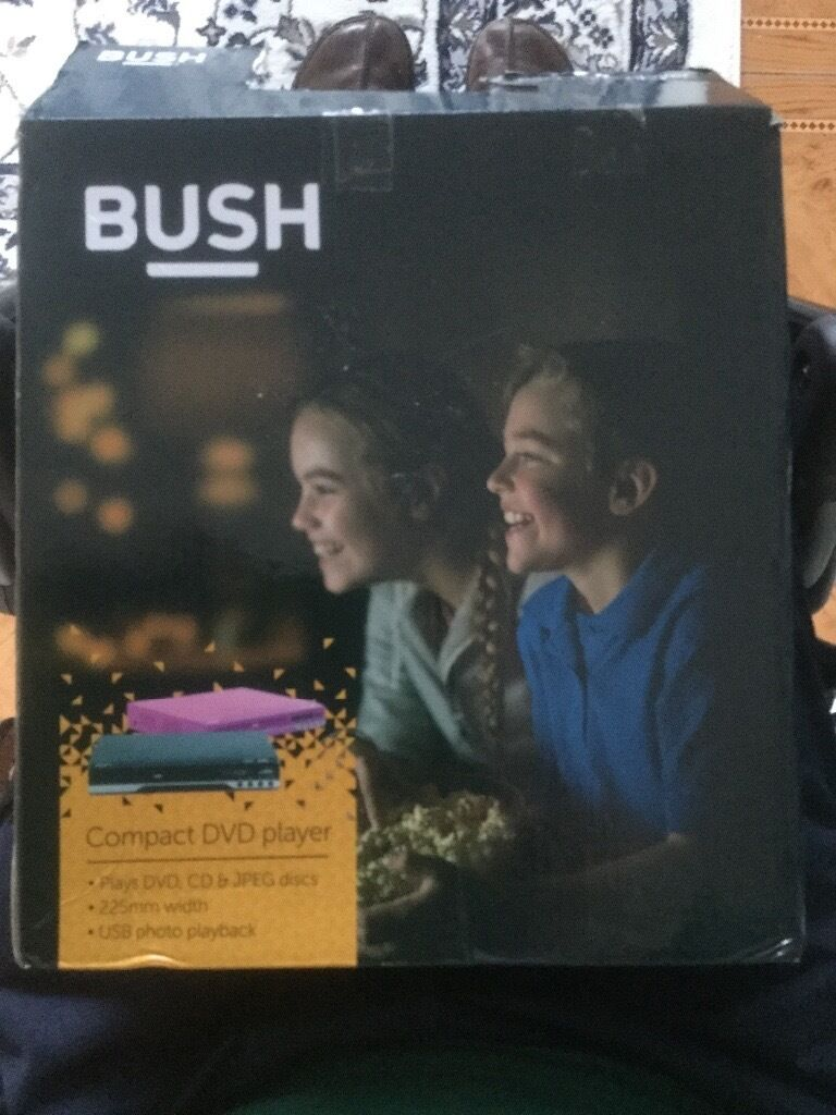 Bush DVD player.