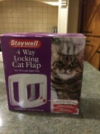 Staywell 4 x way locking cat flap
